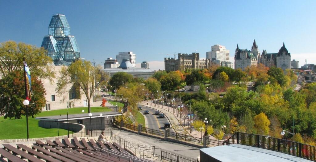 City of Ottawa landscape in Autumn